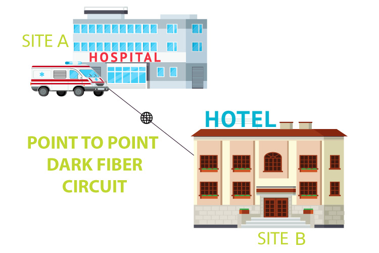 Point to Point Dark Fiber Circuit for events in india